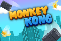 Monkey Kong mobile slots by Mr Spin Casino